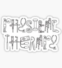 Physical Therapy Gifts For PT Month Sticker