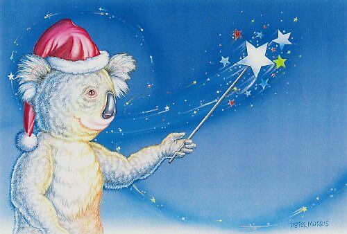 Santa Wand by Pete Morris