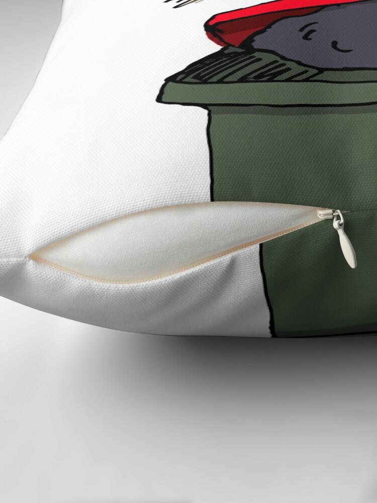 Alternate view of Bin Chicken Throw Pillow