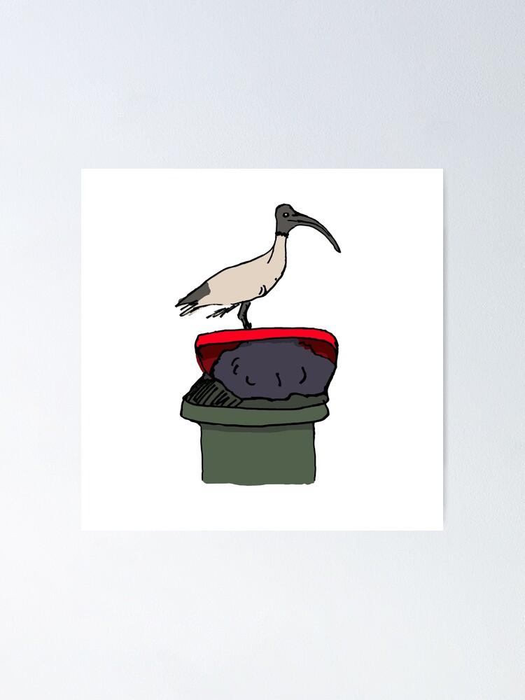 Alternate view of Bin Chicken Poster
