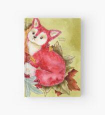 Fancy Fall Fox & Leaves Hardcover Journal