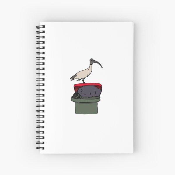 Bin Chicken Spiral Notebook