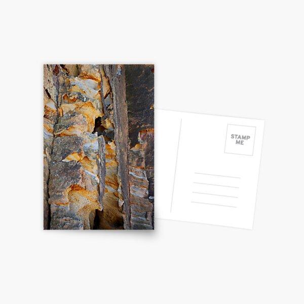 Cliff Colours - Redhead Beach NSW Postcard