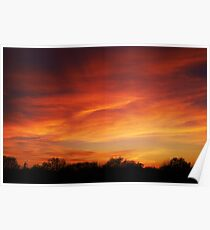 Tuesday - Sunset Poster