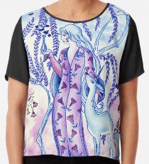 Lady & Last Unicorn Chiffon Top