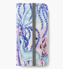 Lady & Last Unicorn iPhone Wallet/Case/Skin