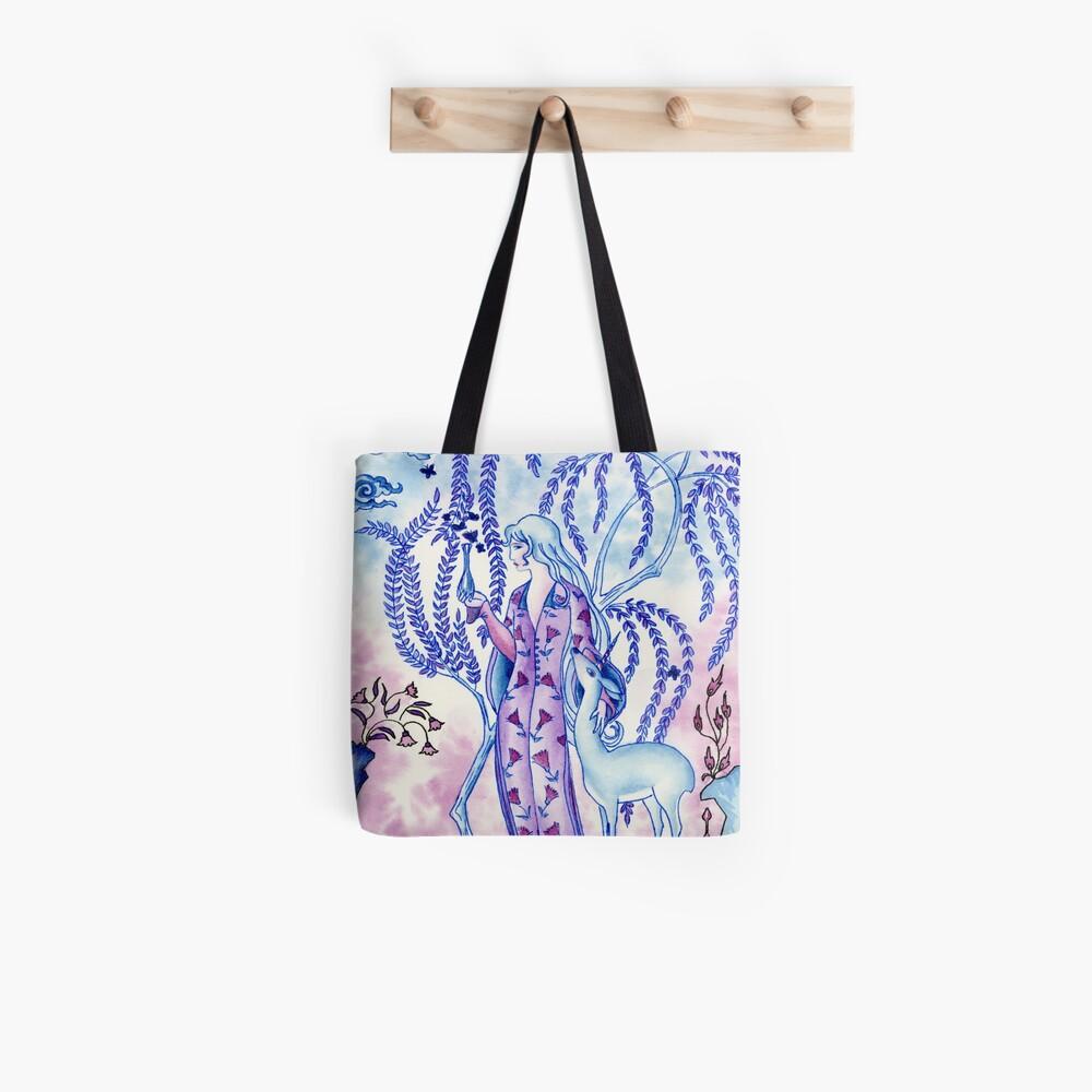 Lady & Last Unicorn Tote Bag