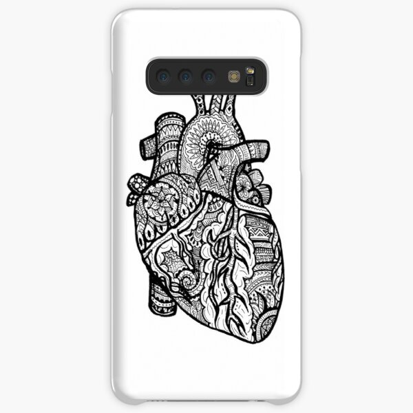 Anatomical Heart Zendoodle Samsung Galaxy Snap Case