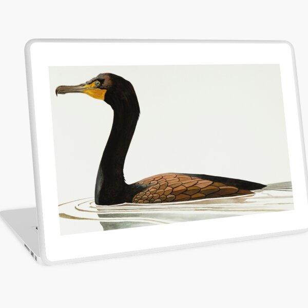 Cormorant study Laptop Skin