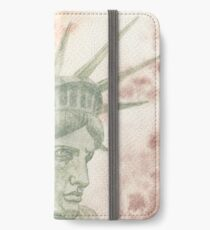 Weeping Lady Liberty iPhone Wallet/Case/Skin