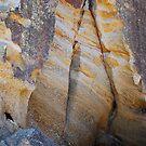 Rock Colours - Redhead Beach NSW by Bev Woodman