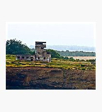 Abandoned On the Coast Photographic Print