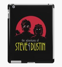 Adventures of Steve and Dustin iPad Case/Skin