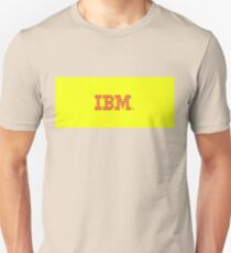 IBM YELLOWnRED  Unisex T-Shirt