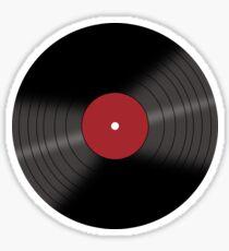 Vinyl Record Sticker