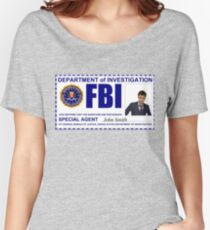 Doctor Who FBI Badge Women's Relaxed Fit T-Shirt