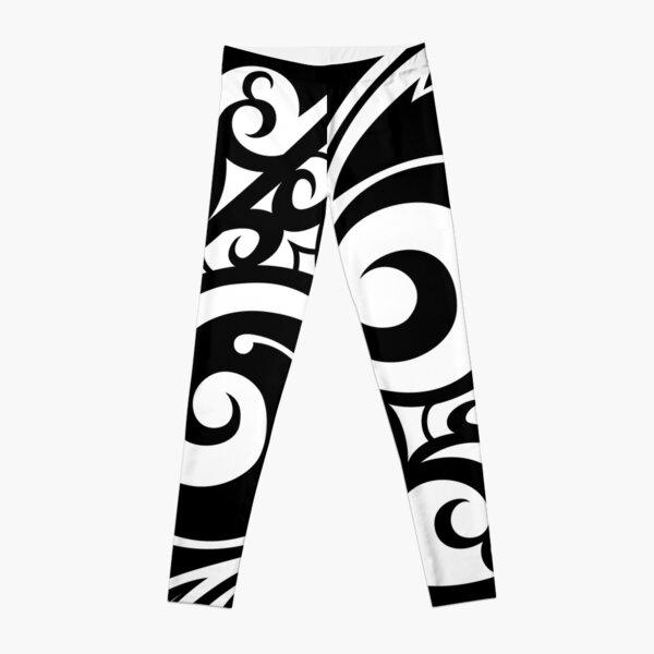 Hawaiian style tribal Leggings