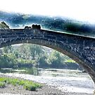 Bridge - Llanrwst North Wales by Trevor Kersley