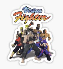 Virtua Fighter - All Characters Sticker