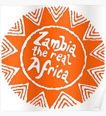Zambia - The Real Africa Poster