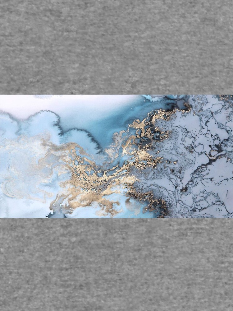 Blau und Gold Marmor von mimsyc