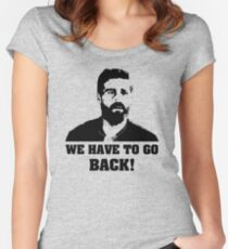 We have to go back! - Lost Women's Fitted Scoop T-Shirt
