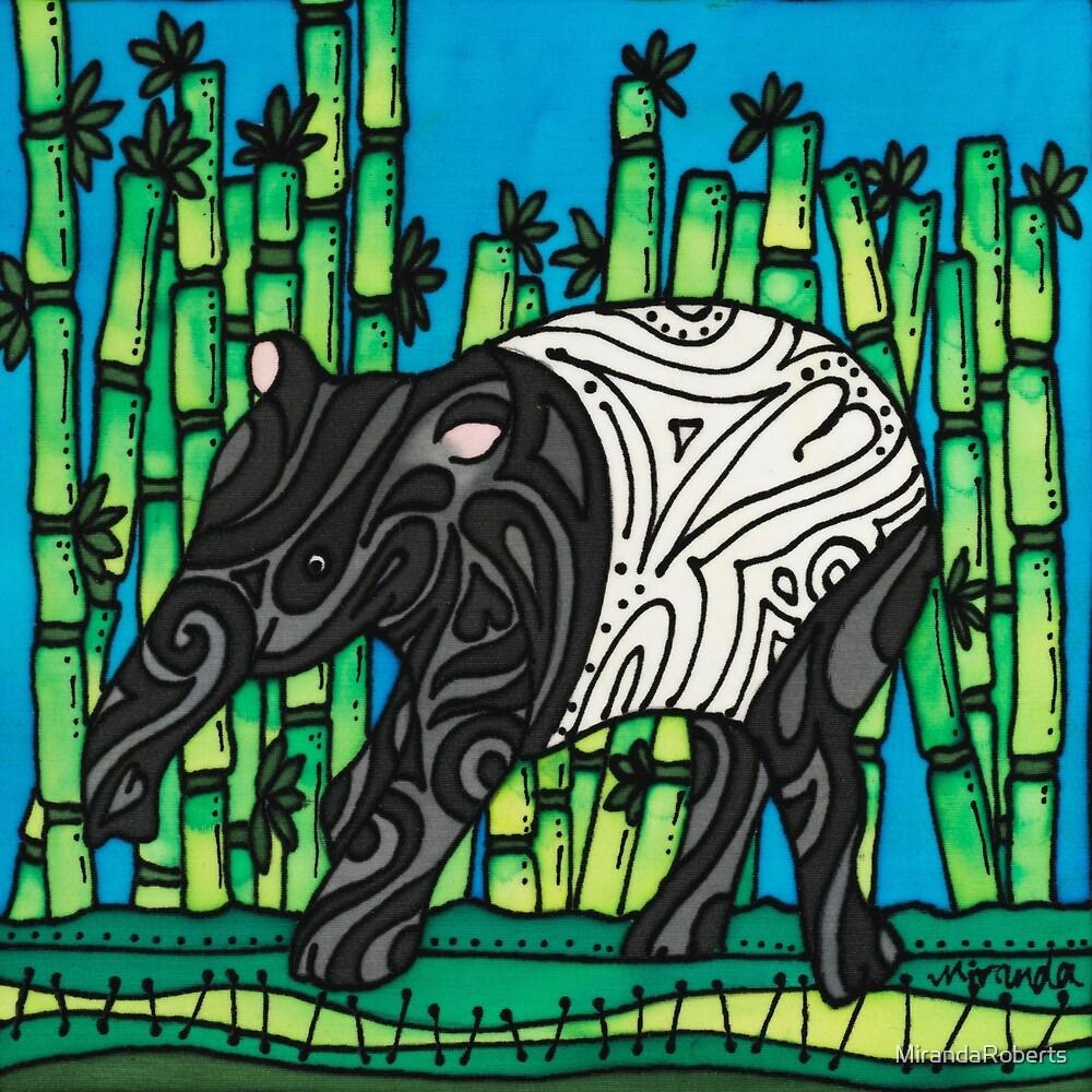 Suka - a tiny tapir by MirandaRoberts