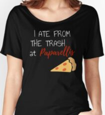 I Ate From The Trash at Paparallis Regular Show The Movie  Women's Relaxed Fit T-Shirt