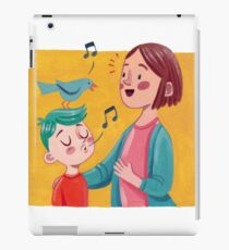 Birdsong Learning- Parent and Child iPad Case/Skin