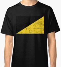 Distressed AnCap Anarcho Capitalism Flag Classic T-Shirt