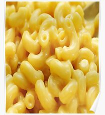 Funny Macaroni and Cheese Poster