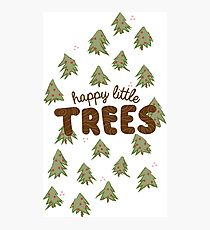 Happy little trees design Photographic Print