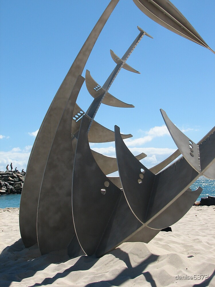 Boat Sculpture by denise6372