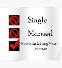 Mentally Dating Martin Freeman Poster