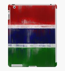 The Gambia Flag Reworked No. 1, Series 2 iPad Case/Skin