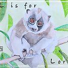 L is for Loris by JenaBenton