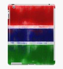 The Gambia Flag Reworked No. 2, Series 1 iPad Case/Skin