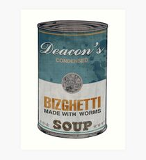 Deacon's Bizghetti Art Print
