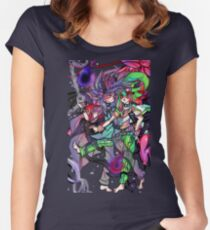 forced fusion Women's Fitted Scoop T-Shirt