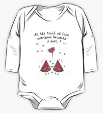 At the touch of love everyone becomes a poet. Kids Clothes