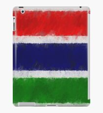 The Gambia Flag Reworked No. 66, Series 4 iPad Case/Skin