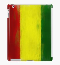 Guinea Flag Reworked No. 1, Series 2 iPad Case/Skin
