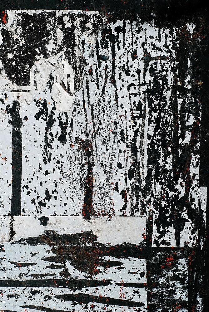 solitary walk by Annemie Hiele
