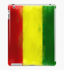 Guinea Flag Reworked No. 2, Series 1 iPad Case/Skin