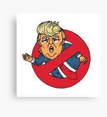 Ecto Trump  Canvas Print
