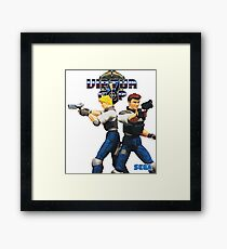 Virtua Cop  Framed Print