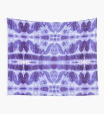 Tie Dye Violet Twos Wall Tapestry