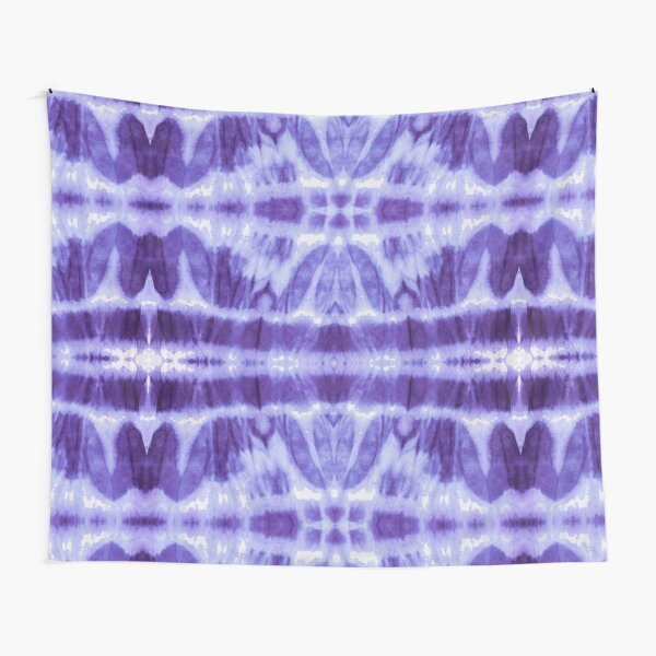Tie Dye Violet Twos Tapestry