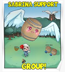 Sabrina Support Group Members Merch!  Poster