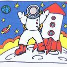 spaceman by Caroline Munday